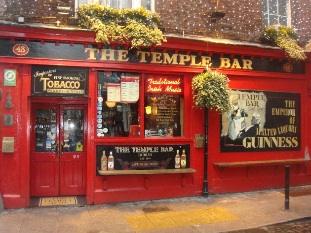 Temple Bar Dublin Overrated