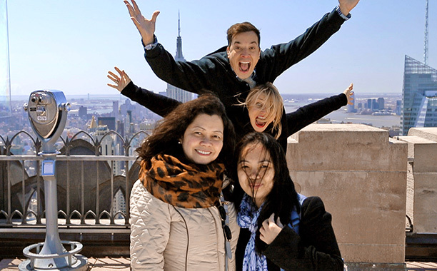 Jimmy Fallon And Cameron Diaz Phobombing Tourists