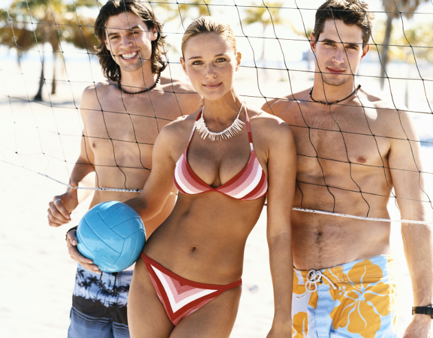 Beach Volley For Amazing Body