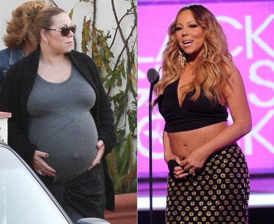 Mariah Carey Post Pregnancy