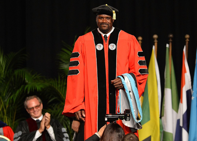 Shaquille O'Neal Phd