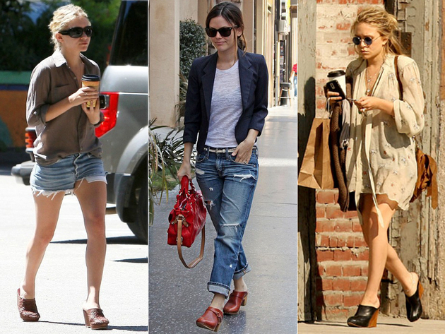 Clog Shoes Worst Celebrity Fashion Trends