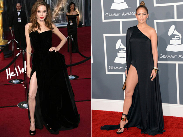 Exposed Leg Worst Celebrity Fashion Trends