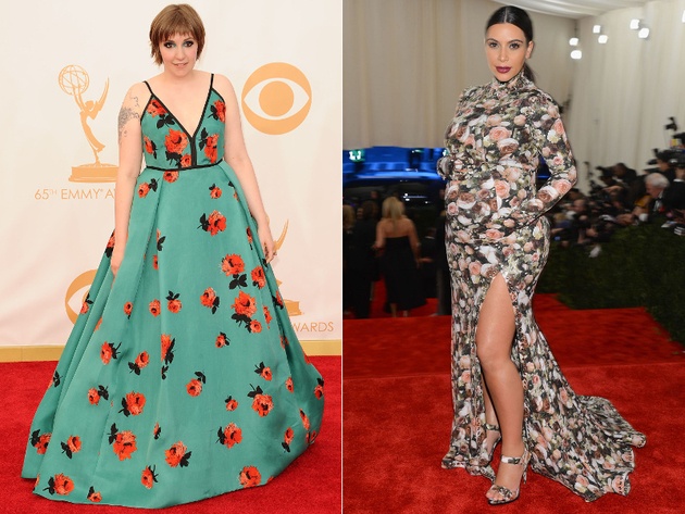 Floral Dresses Worst Celebrity Fashion Trends