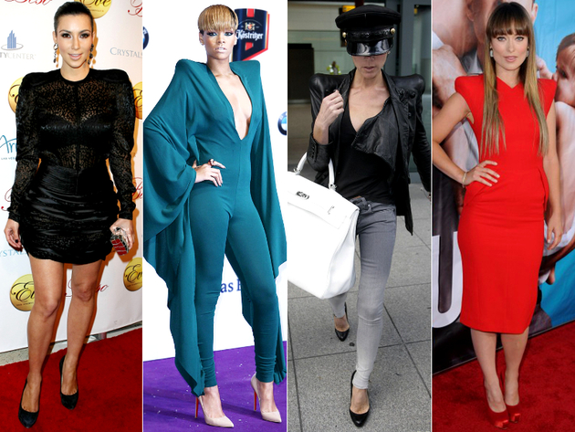 Huge Shoulder Pads Worst Celebrity Fashion Trends