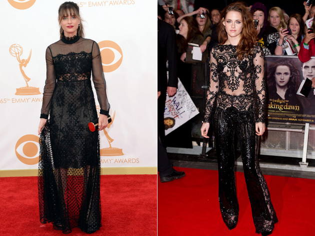 Lace Overkill Worst Celebrity Fashion Trends