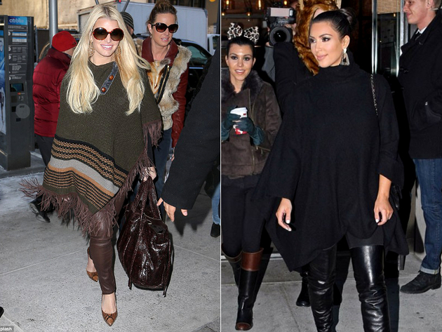 Ponchos Worst Celebrity Fashion Trends