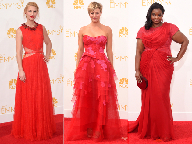 Emmys 2014 Red Gowns