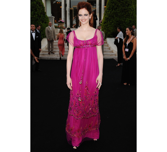 Eva Green Dress 2009 Amfar Gala