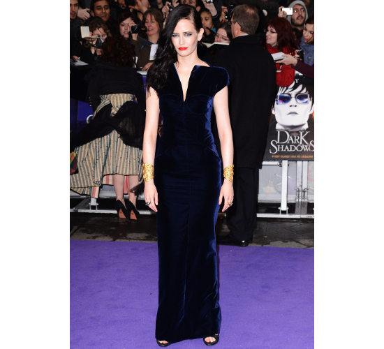Eva Green Dress Dark Shadows London Premiere