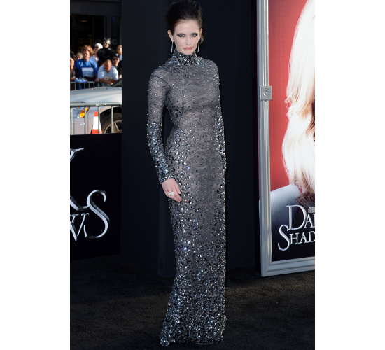 Eva Green Dress Dark Shadows Los Angeles Premiere