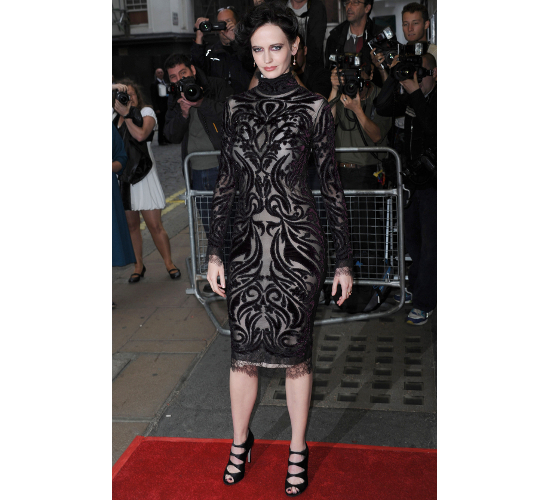Eva Green Dress Perfect Sense London Premiere