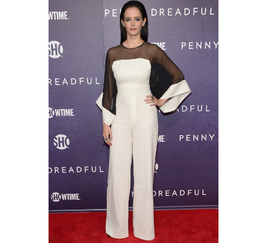 Eva Green Jumpsuit Penny Dreadful World Premiere