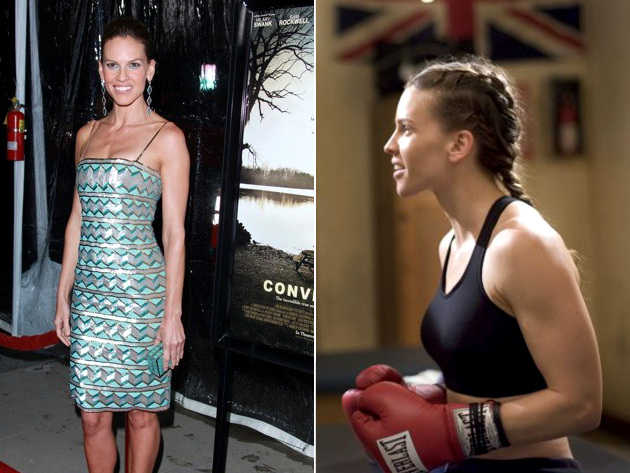 Hilary Swank Weight Gain