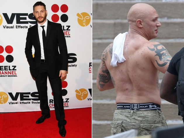 Tom Hardy Weight Gain