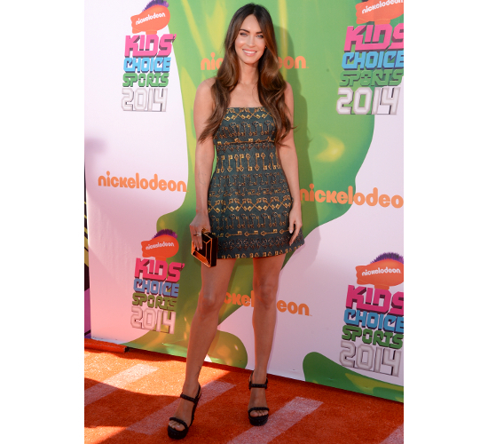 Megan Fox At 2014 Nickelodeon Kids Choice Sports Awards