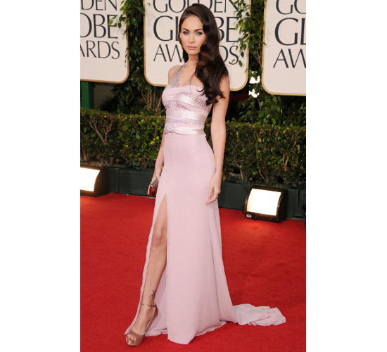 Megan Fox Gown At 2011 Golden Globe Awards