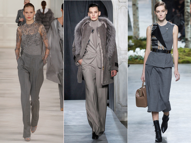 Fall 2014 Trends Color Gray