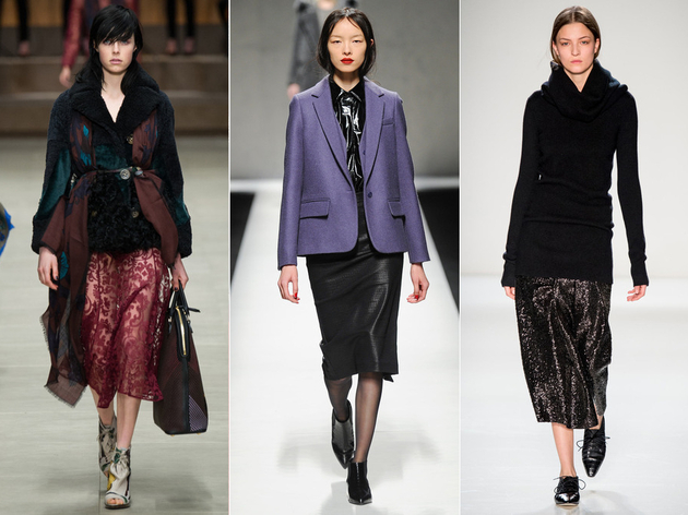 Fall 2014 Trends Midi Skirts