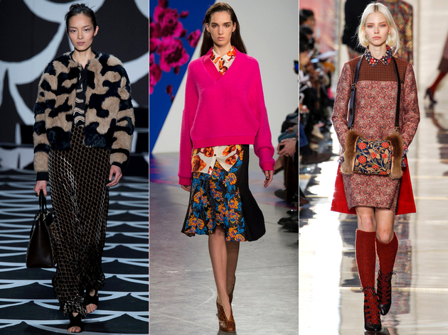 Fall 2014 Trends Mixing Prints