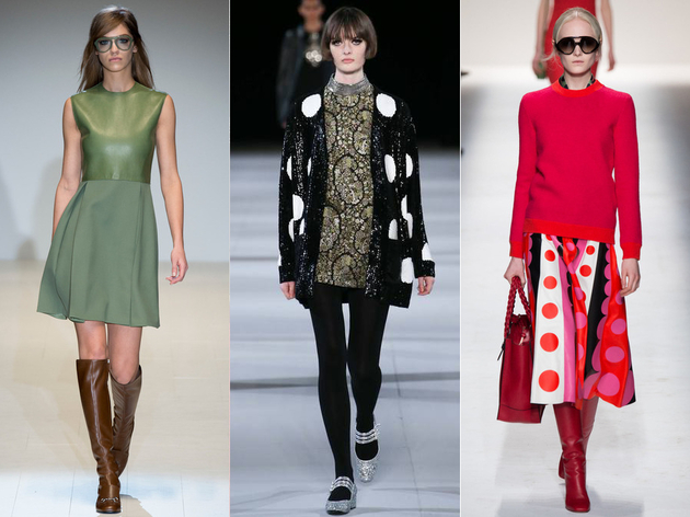 Fall 2014 Trends Retro Sixties