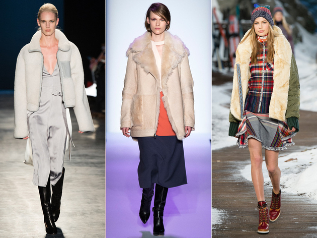 Fall 2014 Trends Shearling