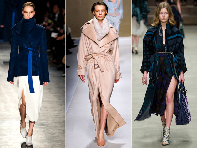 Fall 2014 Trends Wrap Coats
