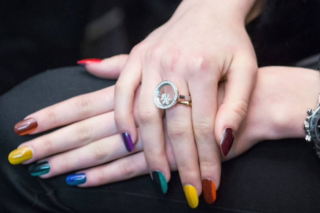 Multi Color Nails Fall 2014