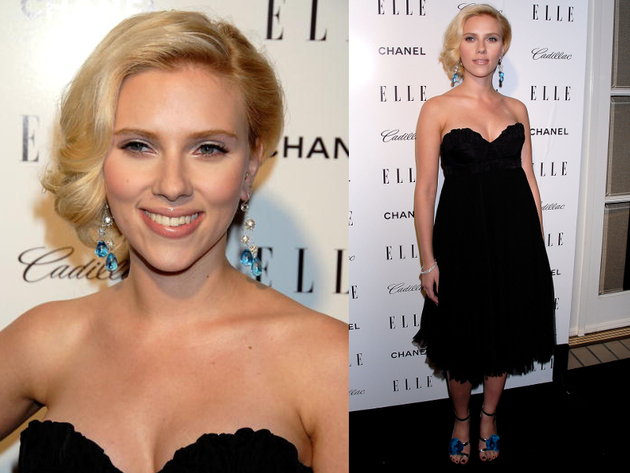 Scarlett Johansson 2007 Elle Women In Hollywood Event