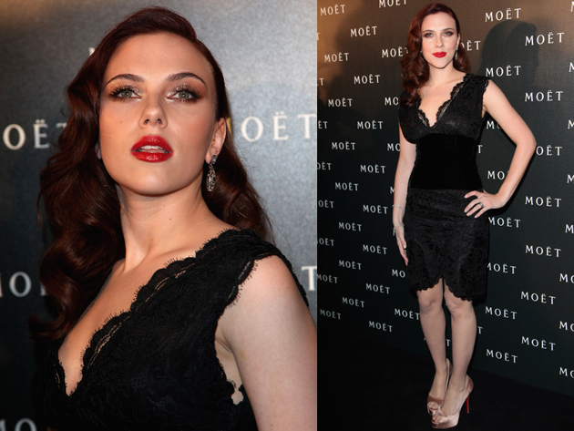 Scarlett Johansson Style 2009 Tribute To Cinema Event