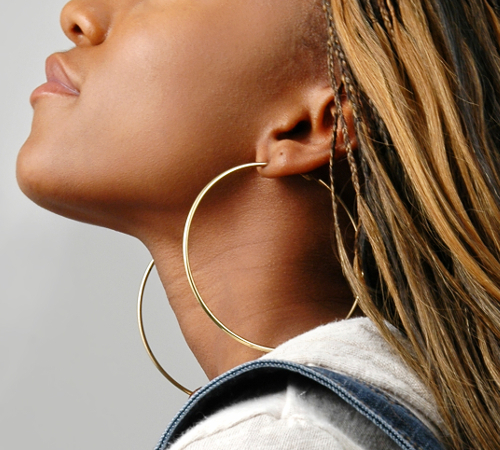Large Hoop Earrings Must Have Earring Styles