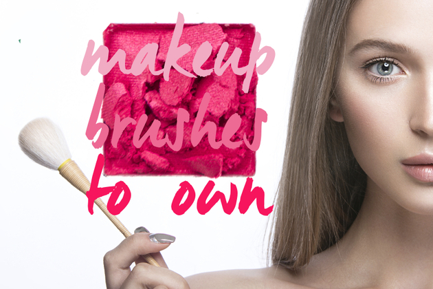 10 Makeup Brushes You NEED in Your Kit