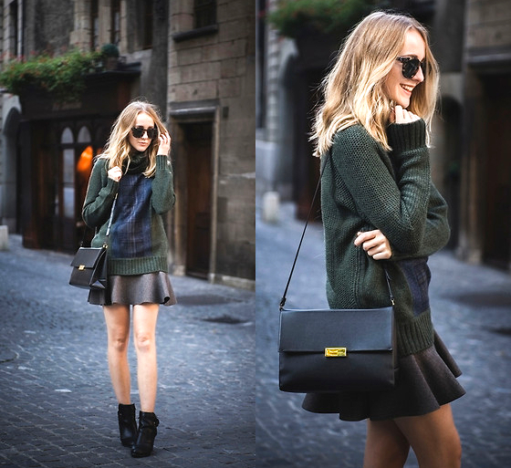 Fall Jumper And Skirt Outfit