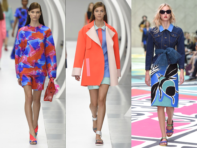 Bold Colors Spring 2015 Trend London Fashion Week