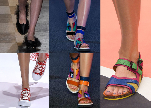 Flat Sandals Spring 2015 Trends London Fashion Week