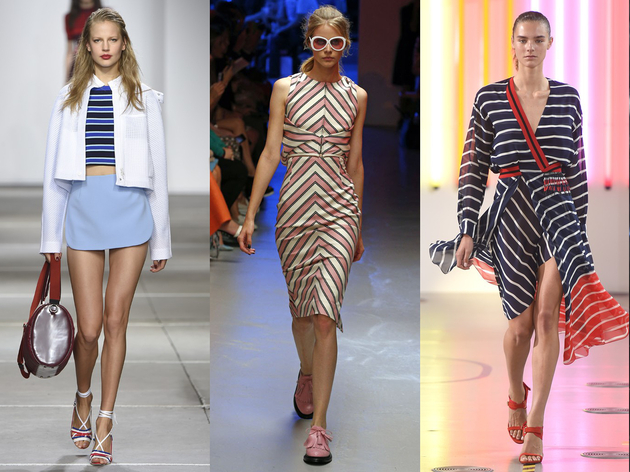 Stripes Spring 2015 Trend London Fashion Week