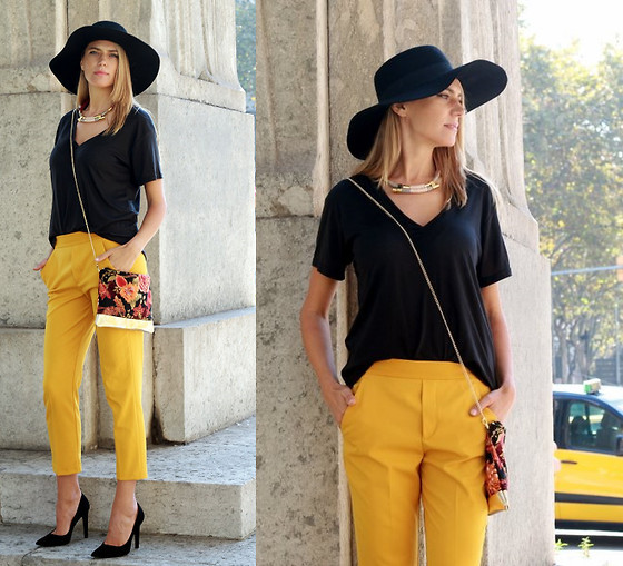 Cropped Pants Outfit