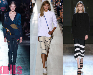 The Mercedes-Benz New York Fashion Week showcased the newest exciting directions for Spring 2015. Check out the major trends that shined on the runway at NYFW.
