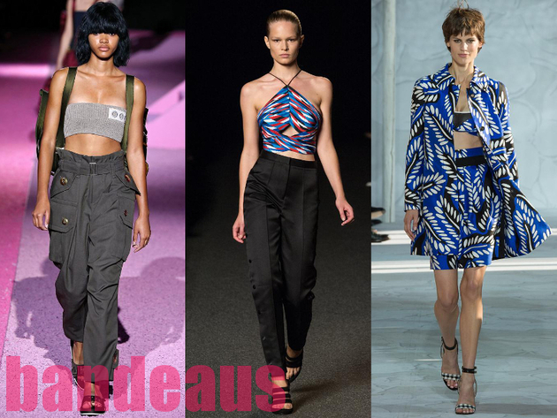 Bandeau Tops Best Spring 2015 Trends From New York Fashion Week