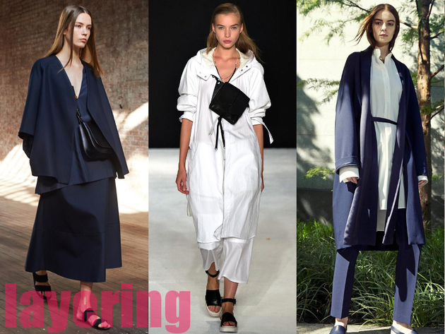 Layering Best Spring 2015 Trends From New York Fashion Week