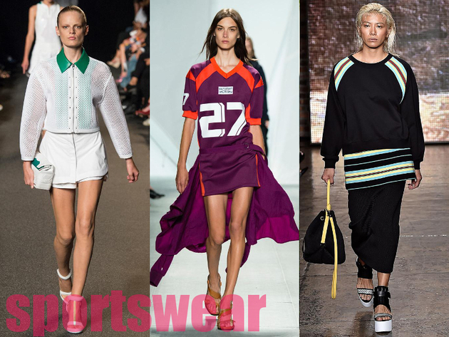 Sportswear Best Spring 2015 Trends From New York Fashion Week