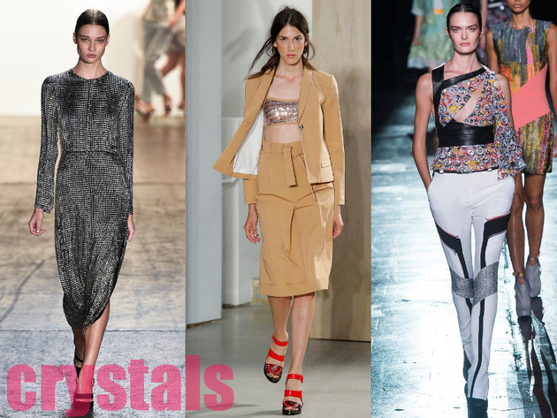 Swarovski Crystals Best Spring 2015 Trends From New York Fashion Week