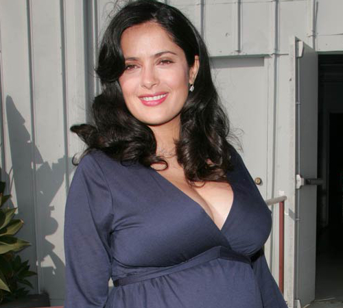 Salma Hayek Pregnant After 40