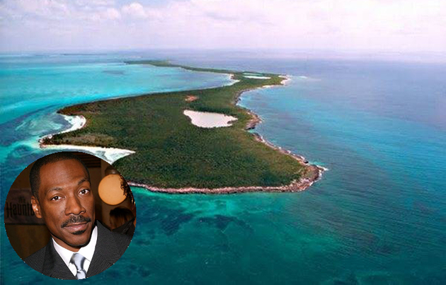 Eddie Murphy Private Island