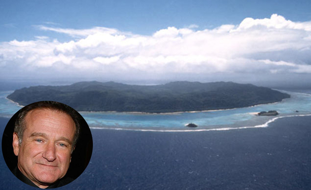 Robin Williams Private Island