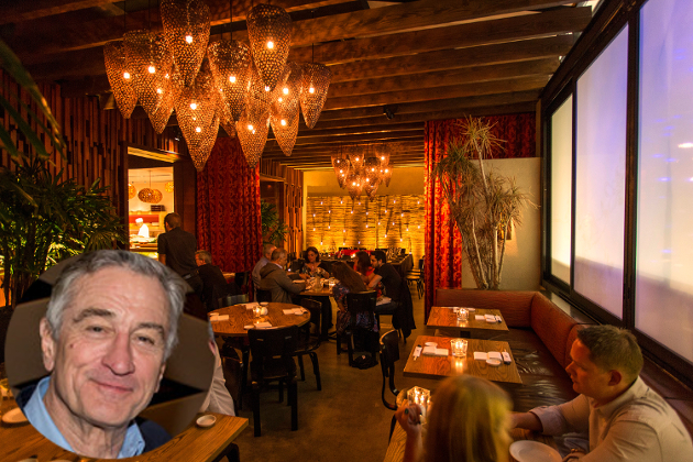 Robert De Niro Nobu Restaurants