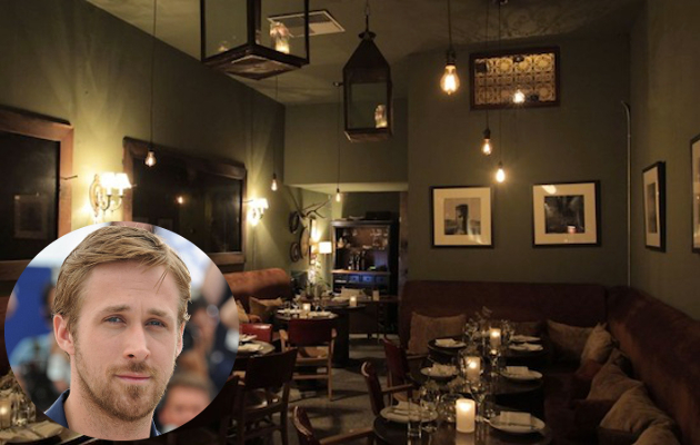 Ryan Gosling Restaurant Tagine