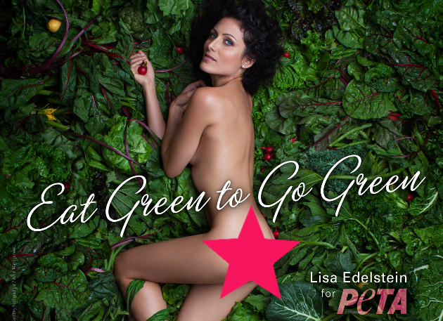 Lisa Edelstein For Peta