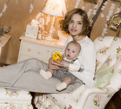 Natalia Vodianova Teen Mom