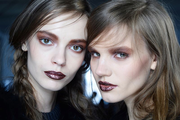 Bronze Lip Color Fall 2014 Trend